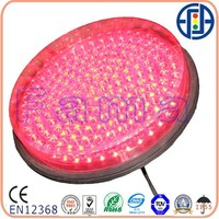 300mm flashing transparent lens LED traffic signal
