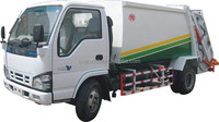 600P 4X2 Small Compressible Garbage Truck