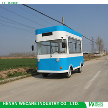 Top Quality Low Price Electric Snack Food Retail Bus Mobile Kitchen Van For Sale