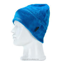 Winter Polar Fleece Hat Heavyweight Fleece Watch Cap Beanie