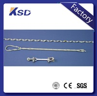 ADSS Fiber Cable Hardware Dead End Clamp / Tension Clamp