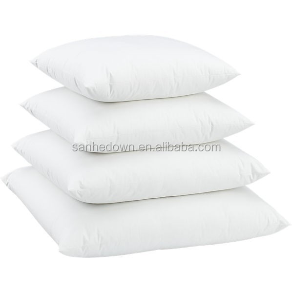 down feather cushion insert