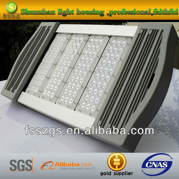 Die casting aluminum outdoor LED tunnel light cover