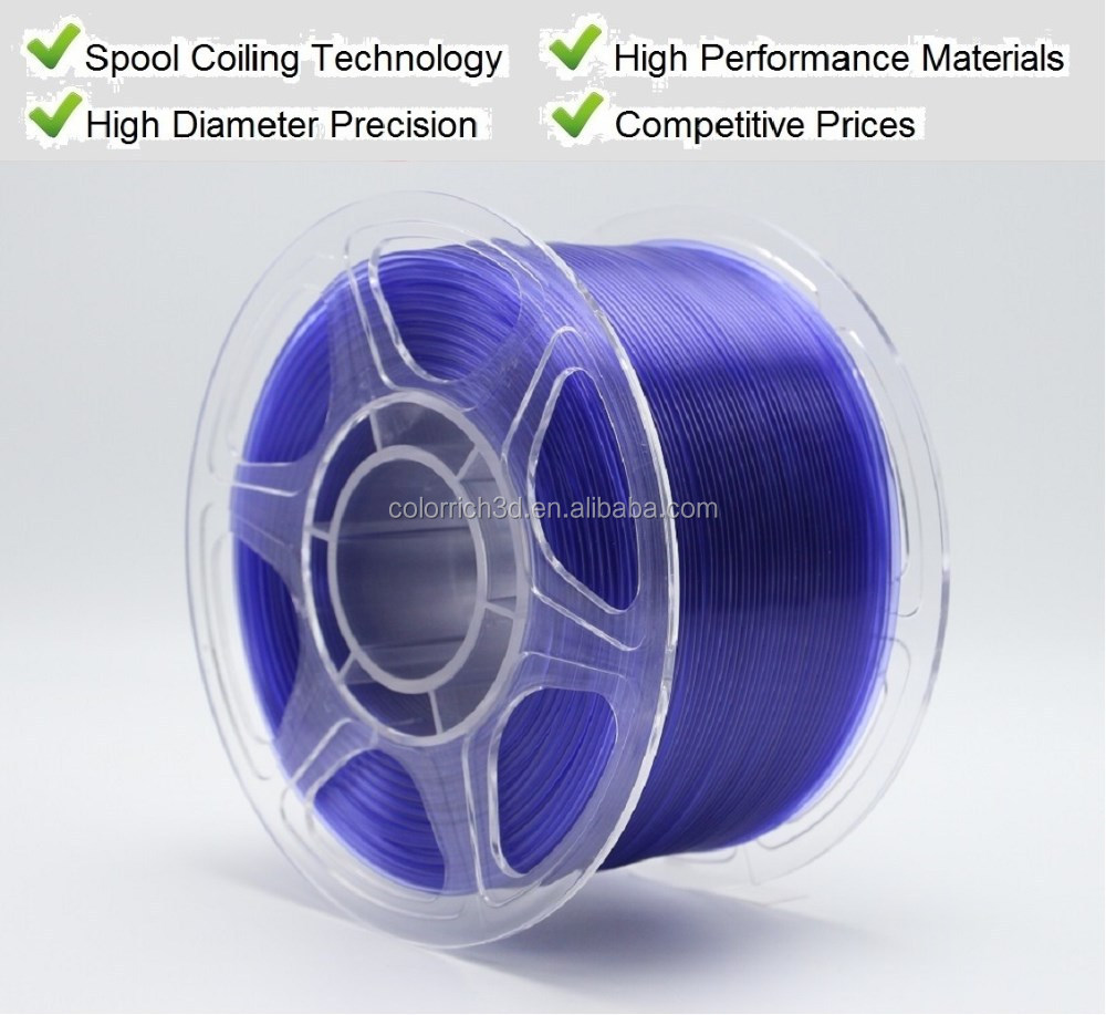 High quality 1.75mm PLA 3D printer filament for FDM 3D printer