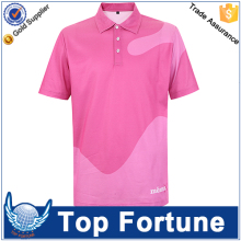 Customized embroidered printing t shirt polo