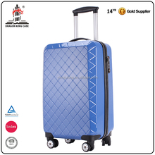 Factory customized suitcase spinner wheels high end vintage style trolley luggage