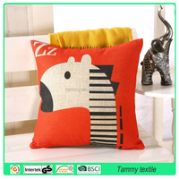 Home Textile Nature Tree Wholesale sofa Pillow Covers Cotton Linen Cushion Cover