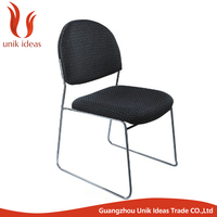 Widely use simple comfortable mesh chair, metal frame chair,conference meeting chair