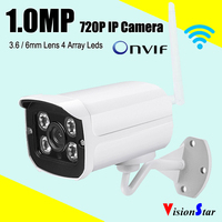 VisionStar Wireless 720P Mini IP Camera ip66 onvif p2p remote view system
