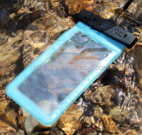 Hot Durable mobile phone bag dry cellphones bag waterproof new