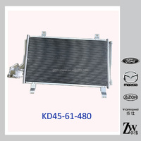 Mazda CX5 Parts KD45-61-480 Car Radiator Front Air Conditioner Condenser