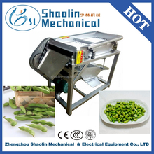 High speed fava bean/vicia fab a skin peeler with low damage
