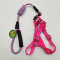 Polyester Adjustable Leash Harness Dog Harness With Handle