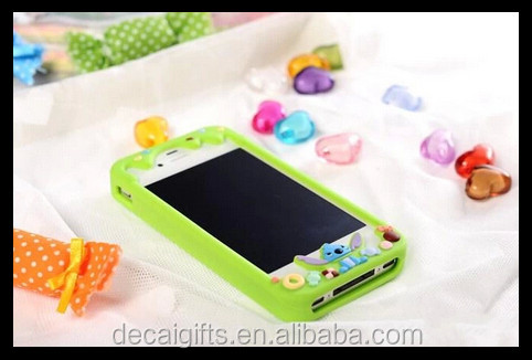 Decai new arrival popular silicone case for phone , silicone mobile phone case