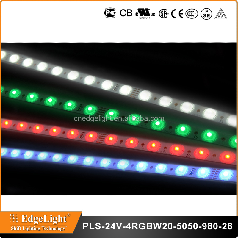 Edgelight led strip rgbw ultra bright <strong>rgb</strong> 5050 led rigid strip multicolor