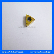 High quality cemented tungsten carbide treading inserts 16IR1.50