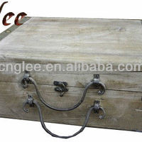 Look Big Old Wooden Box For