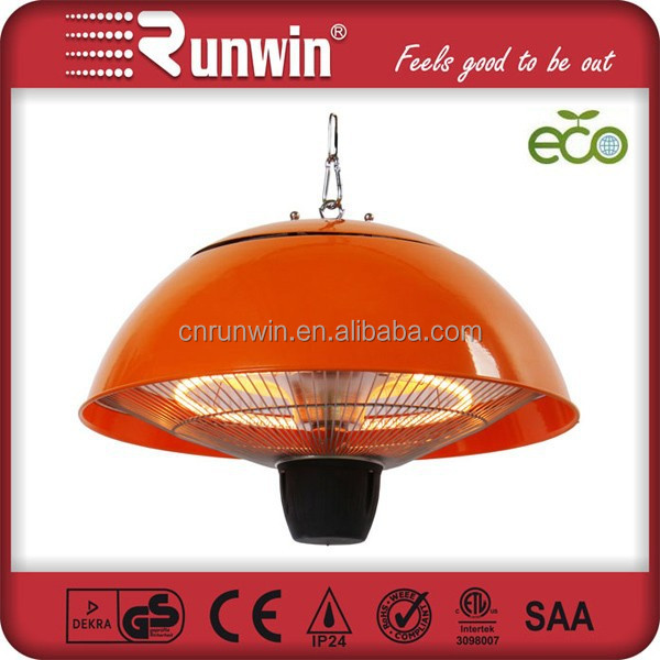 Trade Show Colorful Waterproof IP44 Ceiling Infrared Fan <strong>Heater</strong>