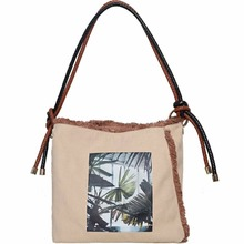 Wholesale Women Handbag Traveling Cotton Eco-friendly Canvas Bag