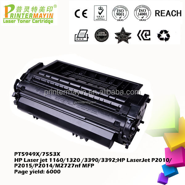 5949X 7553X Toner Cartridge for HP 1320 Printer (PT5949X/7553X)