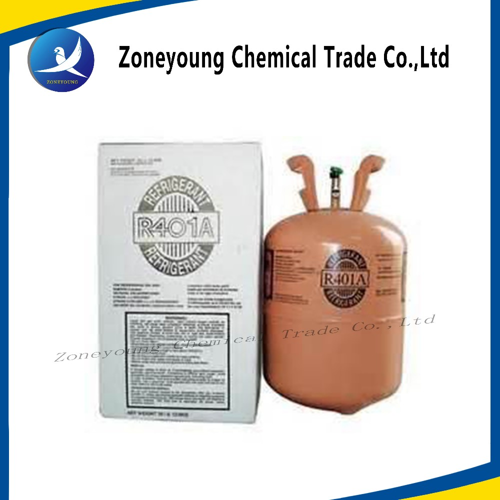 2017 China manufacturer Refrigerant Gas R600a r134a , R401a, R407c,R410a , R507a Refrigerant High Purity Competitive Price
