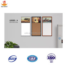 Domestic flexible sheet metal magnetic whiteboard