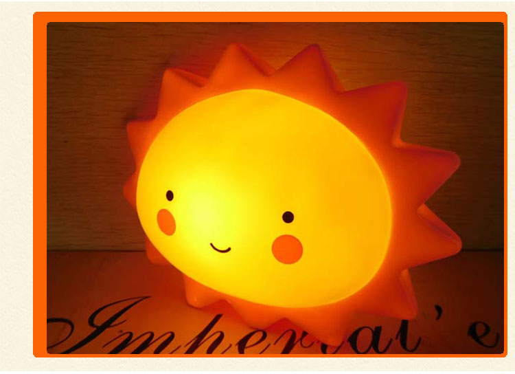 Unique sun shape children night lights online shop china