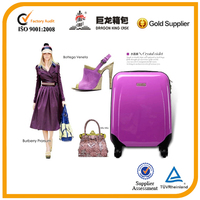 Purple luggage bag especially for ladies