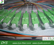 Singlemode 900um 12 color SC/APC optical fiber Pigtail