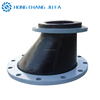 carbon steel flange type double sphere epdm expansion joint cover