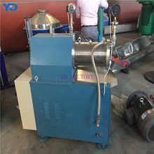 20L diaphragm pump Ex proof agitator sub-micron tungsten carbide grinding cylinder/disk horizontal sand mill for paint