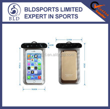 Wholesale price and bulk stock waterproof cellphone transparent cover