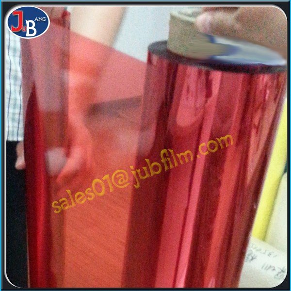 Transparency Pet Silicone Coated decorative Film plastic film For Heat Transfer