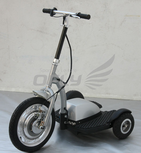 Stable Quality 350W zappy electric scooter with Permanent-magnet Brushed DC Motor