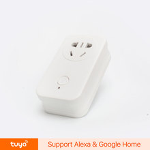 Wireless Smart Wifi Power Switch Plug In Timer Work with Amazon Alexa