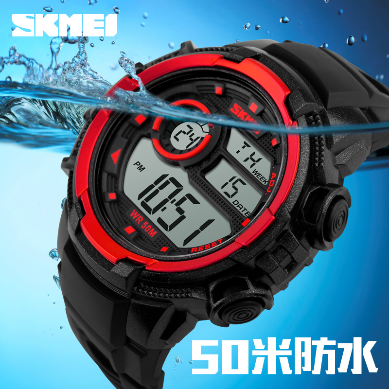 cheap digital watch 3 atm water resistant watch mens sport watches