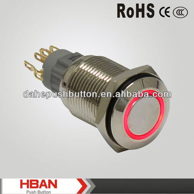 CE ROHS door release panel switch