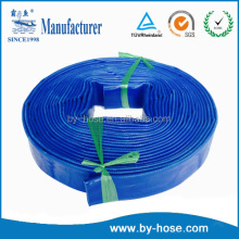 factory supply high quality 1 inch pvc lay flat discharge hose pipe