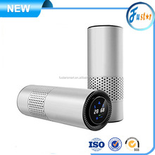 High quality car air purifier ionizer with true hepa filter sterilization / Formaldehyde - removing filter