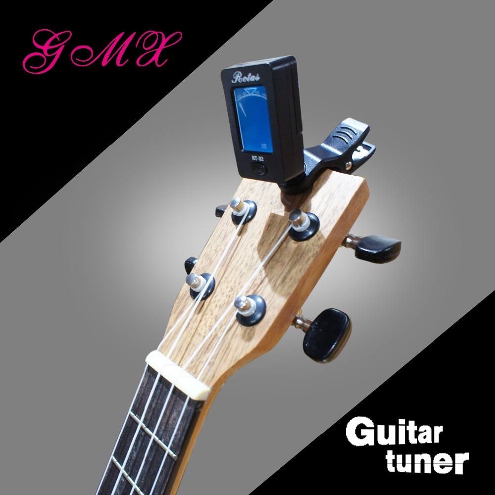 Clip-on Guitar Tuner for Chromatic Guitar Bass Violin Ukulele Tuner&Metronome with Color Display
