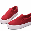 Sweet light high canvas casual sneakers lady fashion shoes