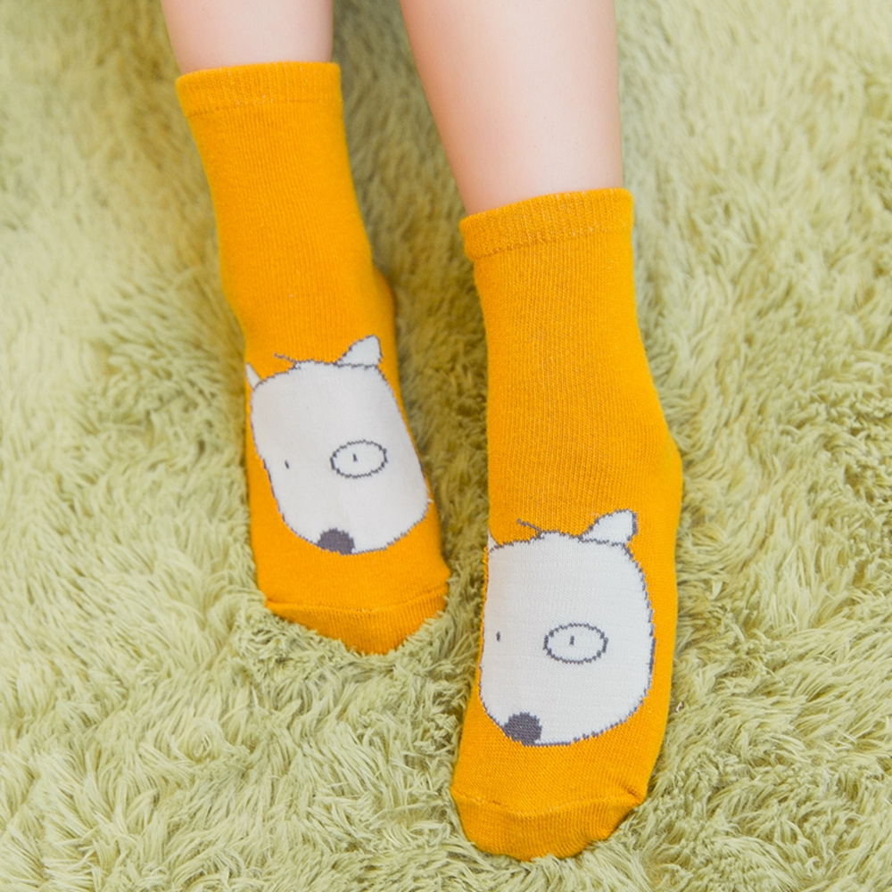 korea weight pair flip flop children cartoon tube sock