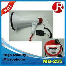 MG-255 megaphones high quality With Lithium Battery,DC 9V
