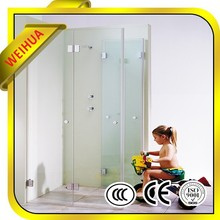 High Quality frosted tempered glass for bathroom