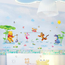 Hot selling decorative nursery wall sticker paper arabic design