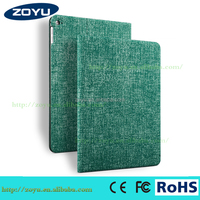 2015 Newest Smart Tablet Leather Case Cover For Ipad air2 Flip Leather Good Quality Case For Ipad Air 2