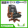 OC-02 Big Boss Message Chair Luxury PU Solid Wood Office Chair Executive Manager Chair