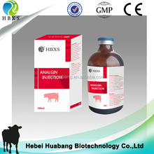Veterinary Medicine For Cattle Horse 50% Novalgin