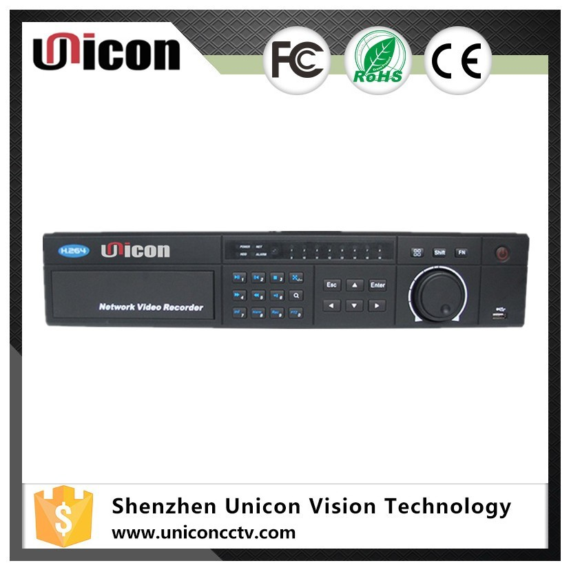 Unicon Vision UN-NVR4828 1080P Real Time Onvif H.264 HD POE 128CH NVR