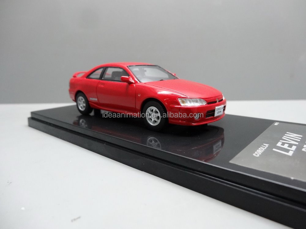 China wholesale resin car toy 1 43 scale model car for Christmas gifts car model